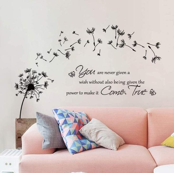Wall Decals for the large wall in the living room