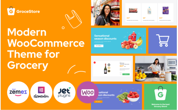 GroceStore - woocommerce supermarket themes