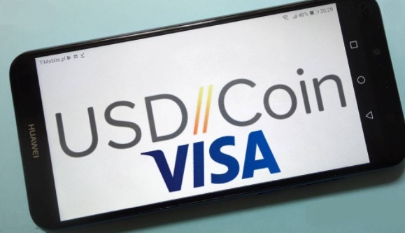Visa adds support for USDC in its network news