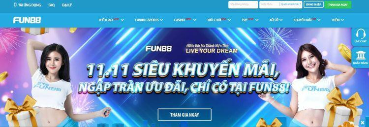 Fun88 Link Vào Không Bị Chặn Mới Nhất 2020 - Khuyến Mãi 100%