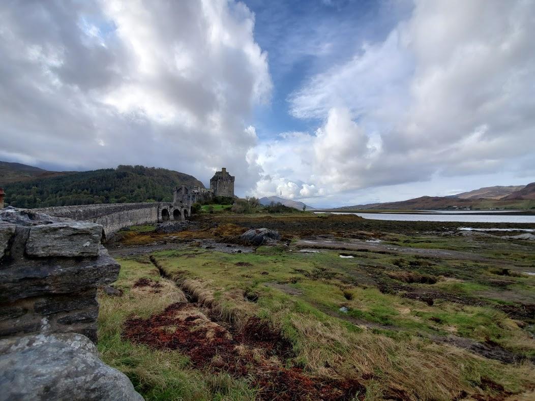 Dunvegan Castle in the Scottish Highlands.