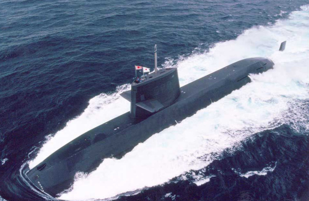 Oyashio-class submarine