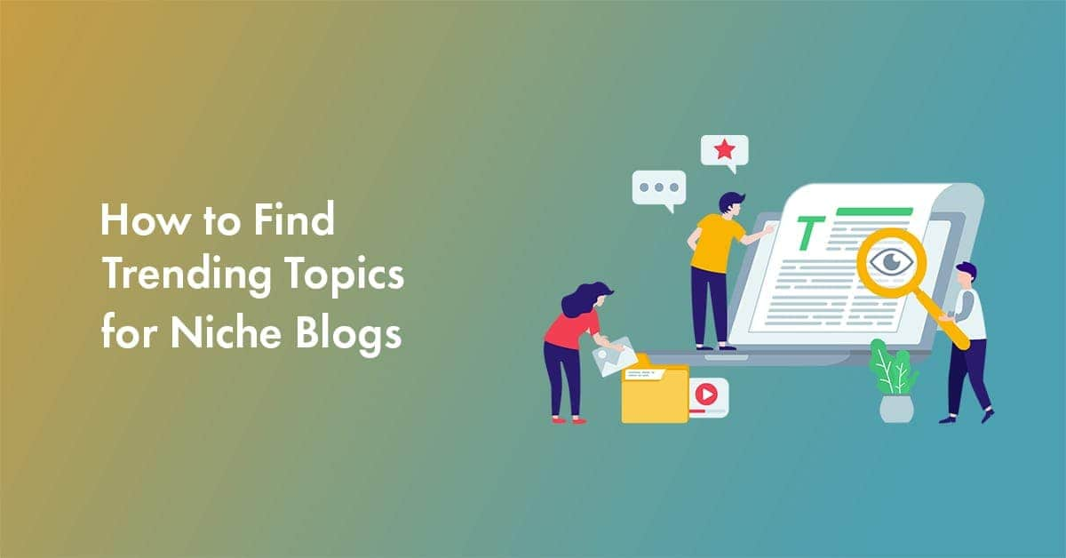 Start blogging with the trend of internet advice.