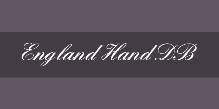 England Hand