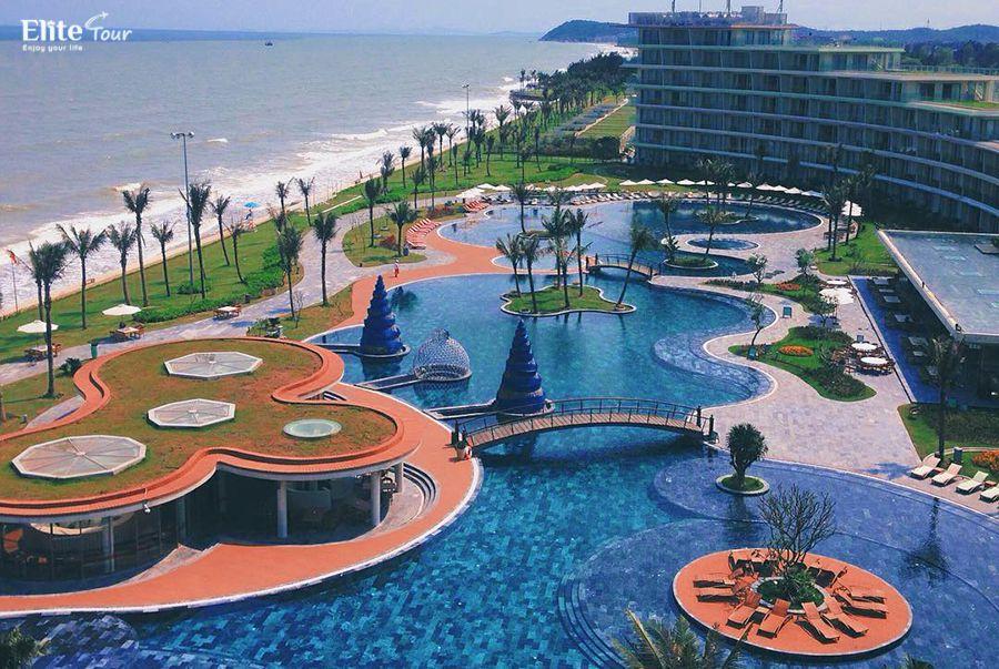 Bể bơi nước mặn FLC Sầm Sơn