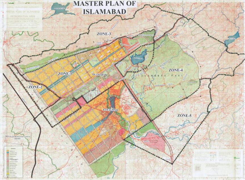 Islamabad real estate master plan