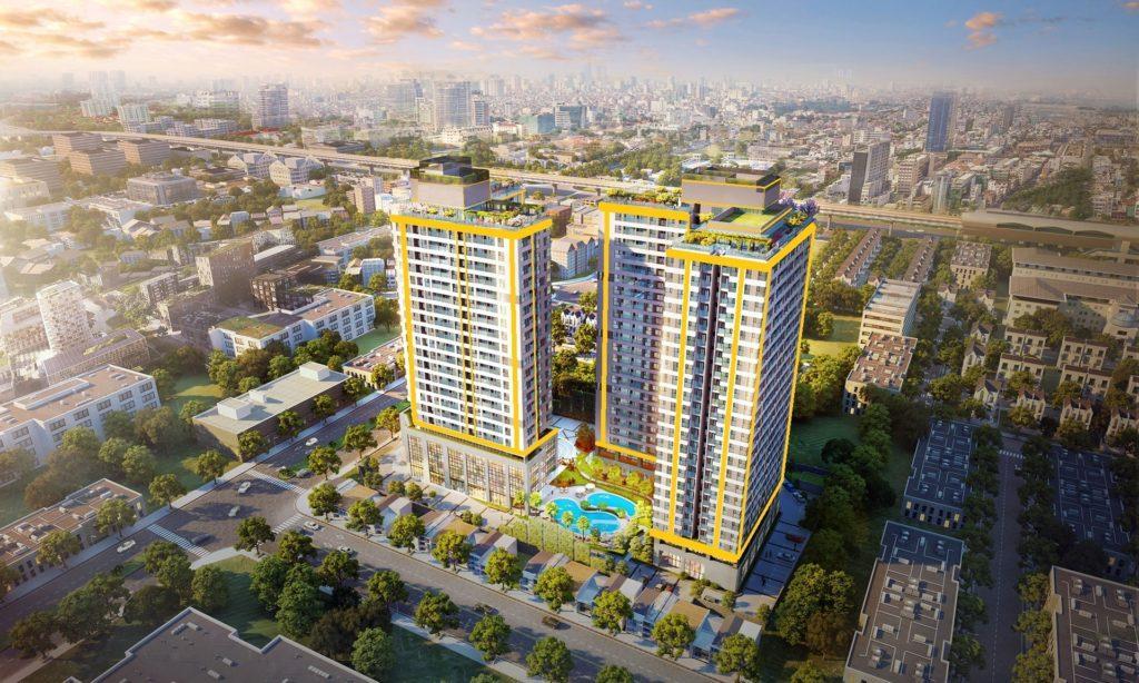 Dự án xanh giữa lòng thành phố