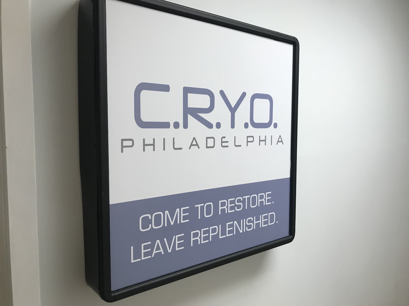 Restore your body with Cryo Philadelphia