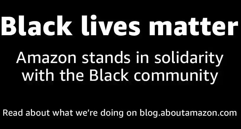 Black Lives Matters from Amazon at blog.aboutamazon.com