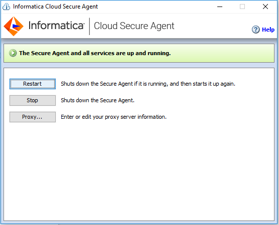 How to access to Denodo VDP from Informatica Cloud