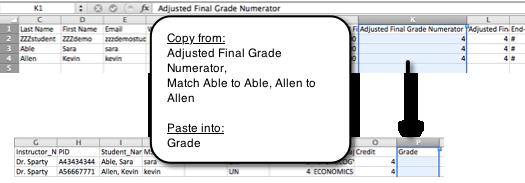 sort example