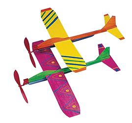 Non-Propeller Planes Craft Kit 12/pk.