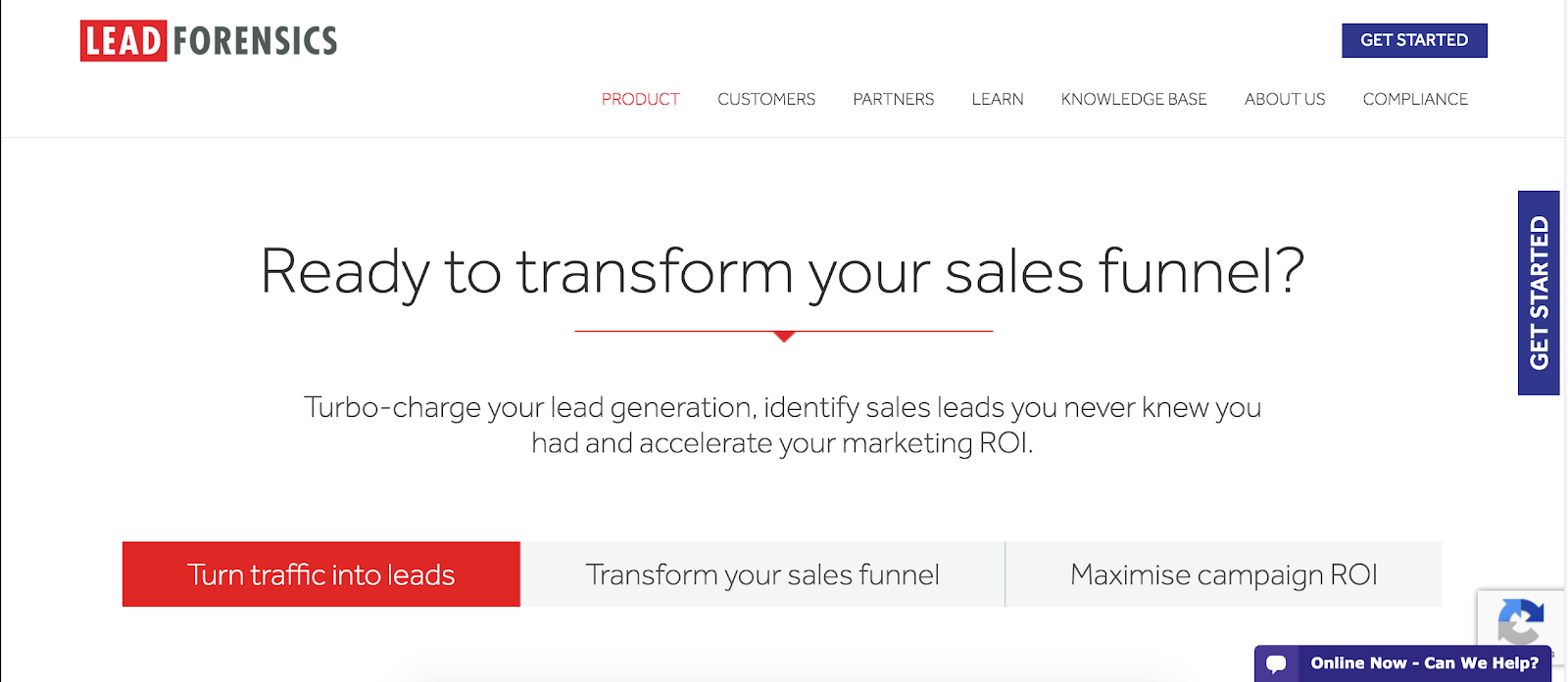 Lead Forensics | 10 Most Innovative Lead Generation Tools for 2019