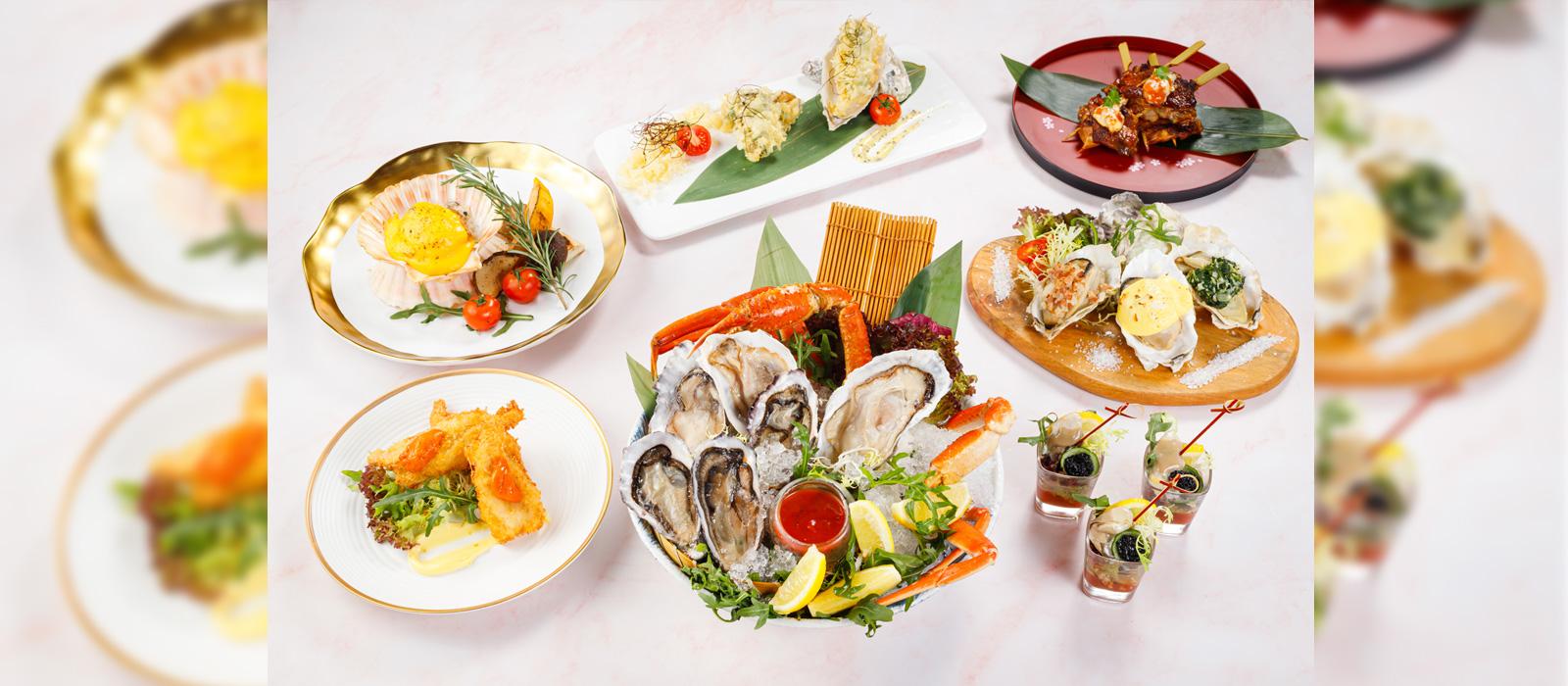 城景酒店 City Cafe - 海膽‧生蠔‧海鮮自助晚餐