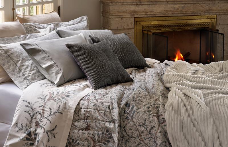 casa aquecida cama