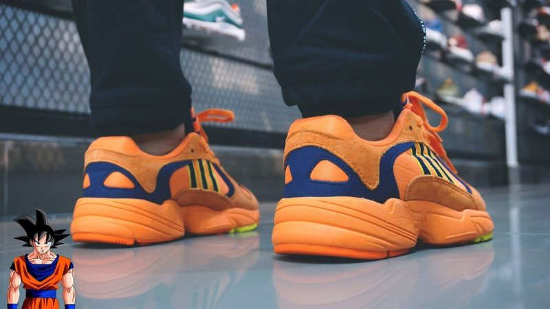 giay adidas yung 1 orange