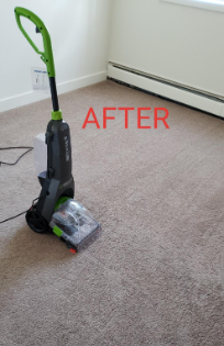 BISSELL 2085C Powerclean Turbobrush Compact Carpet Pet Deep Cleaner after cleaning results