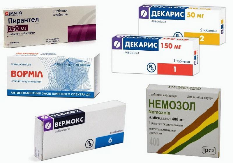 лекарственные средства от глистов