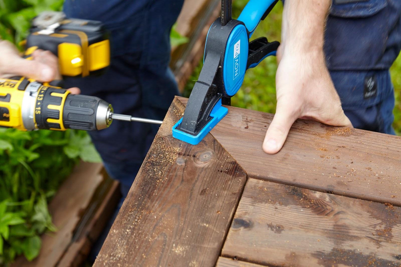 hvordan bygge terrasse