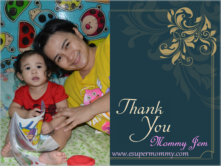 Mommy Jem's Thank You!