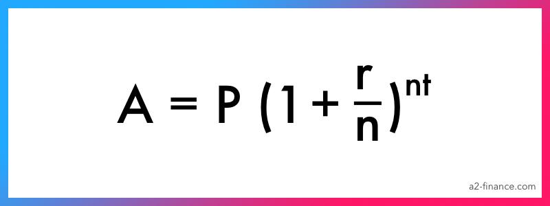 Formule d'intérêt composé 2