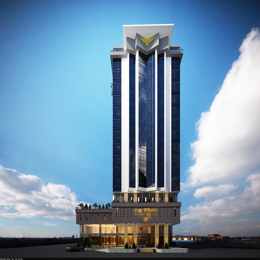 Khách sạn Đại Bàng (Eagle Hotel)- đẳng cấp 4 sao, tọa lạc tại cửa ngõ thành phố Hà Tĩnh