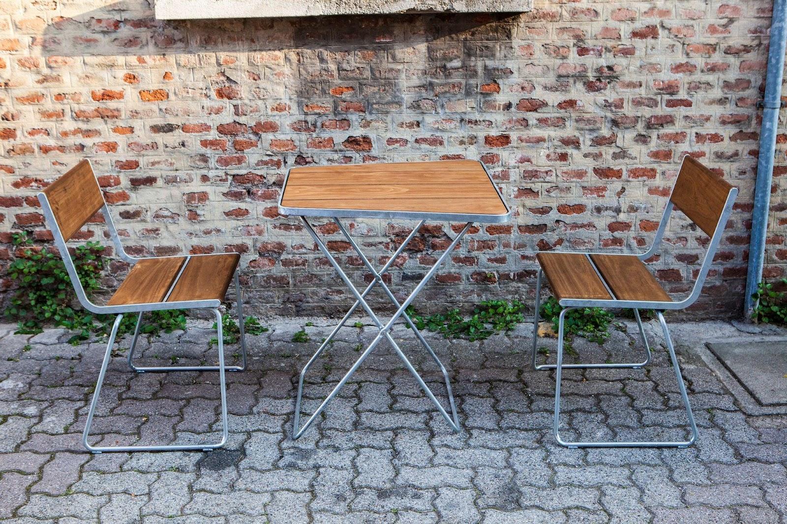 Møbler af Kebony materialer