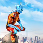 Snow Storm Superhero - Best Superhero Games for Android