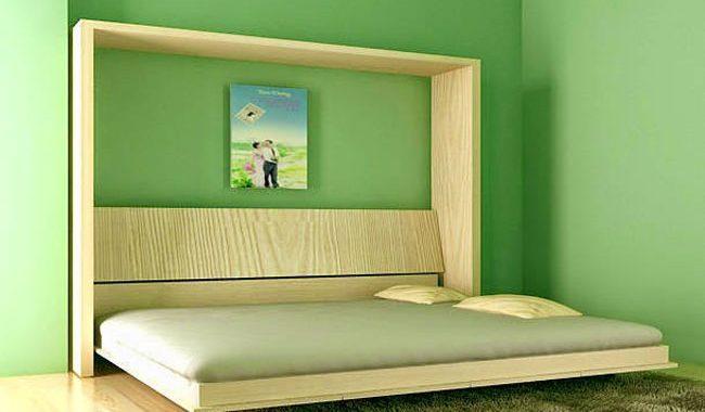 Giường gấp zip có thể kếp hợp với nhiều loại nội thất khác nhau