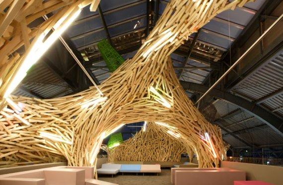 Indoor Bird's Nest Interior Design