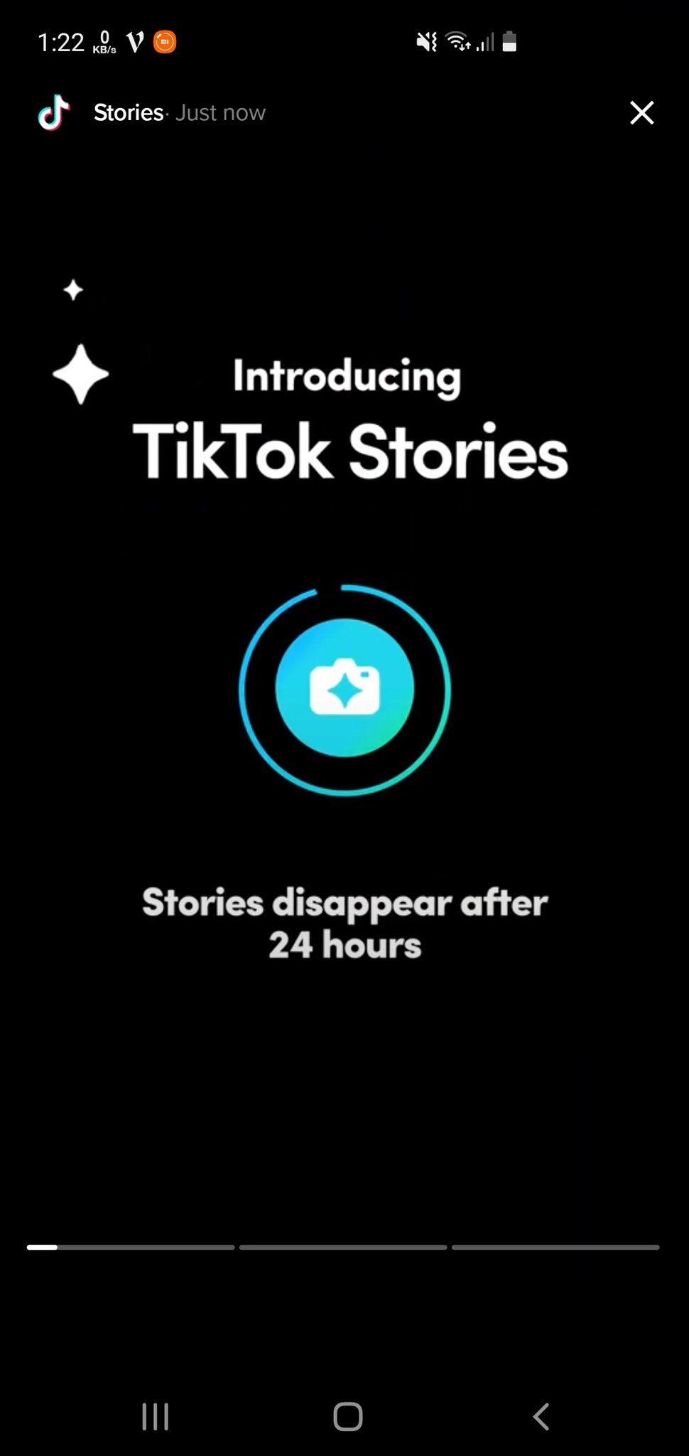 Stories TikTok