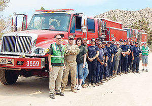 Lake Fire gives Morongo Basin CERT first live action