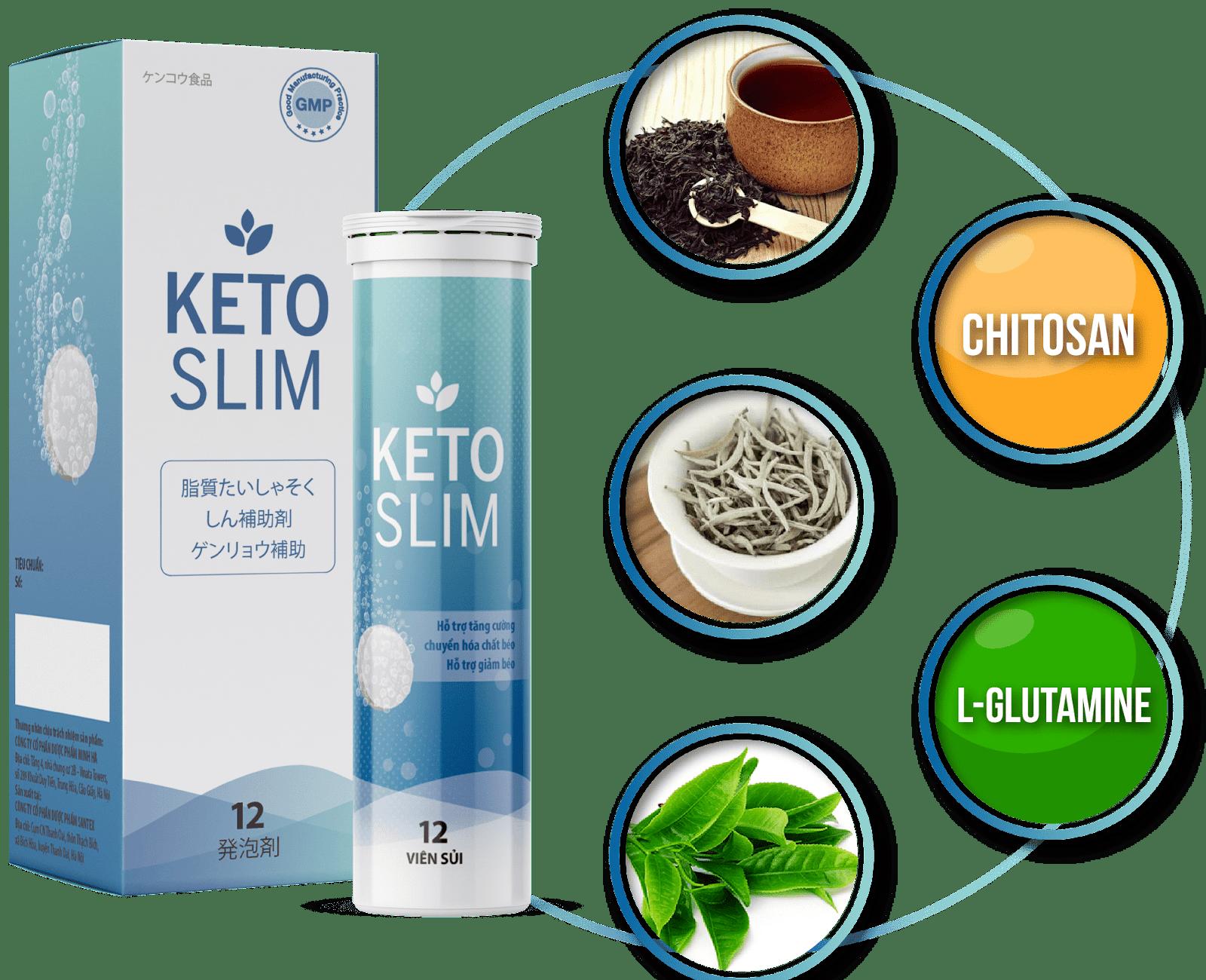 Thế mạnh của viên sủi giảm cân Keto Slim mà bạn không nên bỏ qua