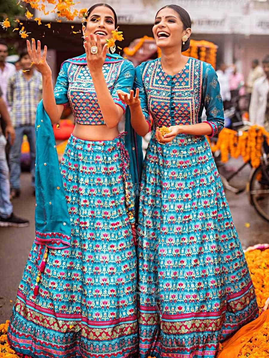 Silk Chaniya Choli for Wedding