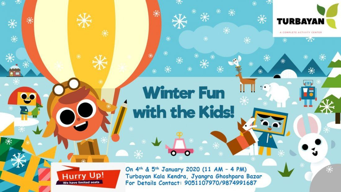 Winter Camp with Kids