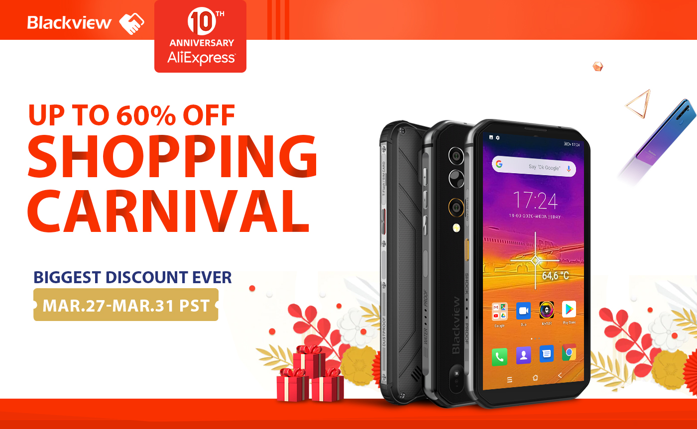 Blackview Kicks off a Grand Shopping Carnival at AliExpress 328 Anniversary Sale