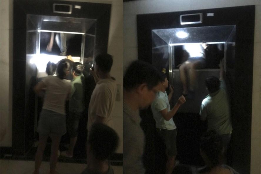 Một sự cố mất điện thang máy tại Hà Nội vào tháng 6/2019
