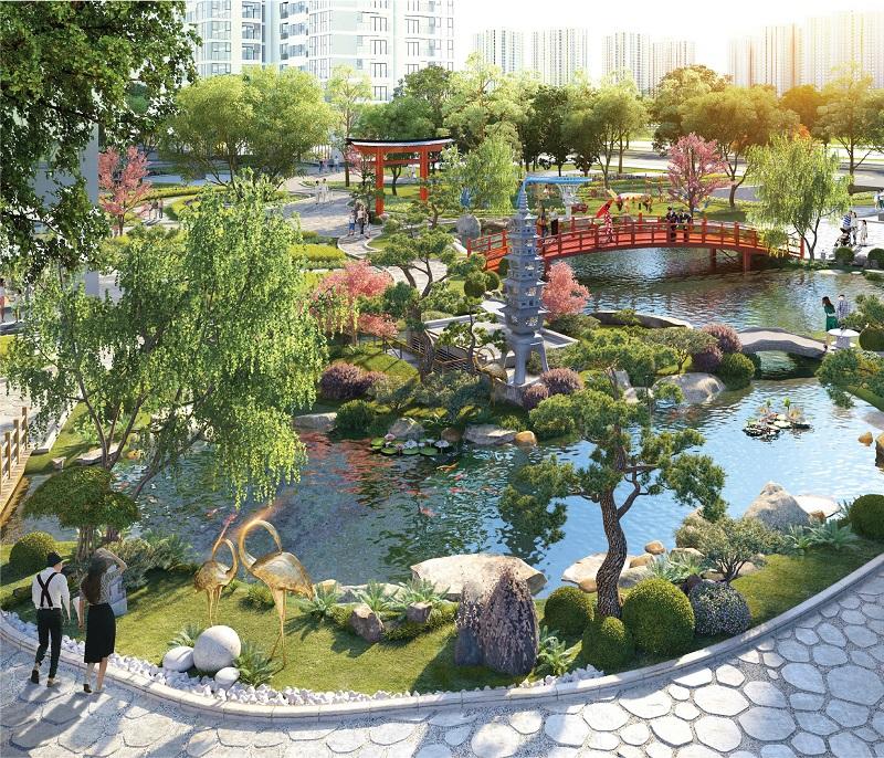 Khu vườn Nhật