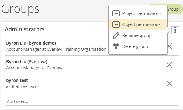 Sharing and Object Permissions – Knowledge Base