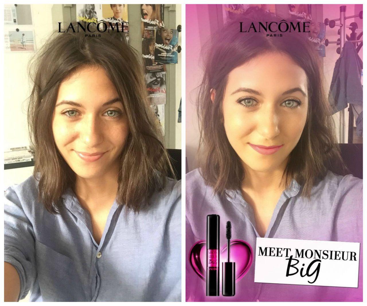 - Snapchat / Lancôme