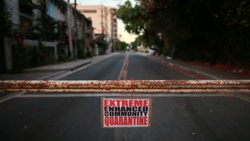 To contain the spread of coronavirus, Manila grapples with ...