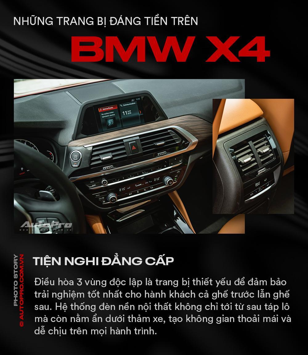 Những trang bị đáng tiền trên BMW X4 - Ảnh 6.