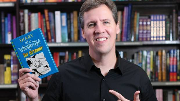 The Diary of a Wimpy Kid series author Jeff Kinney is coming to New Zealand for the first time in May.