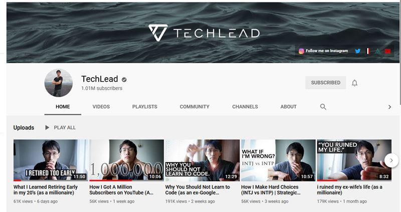 The Tech Lead Youtube