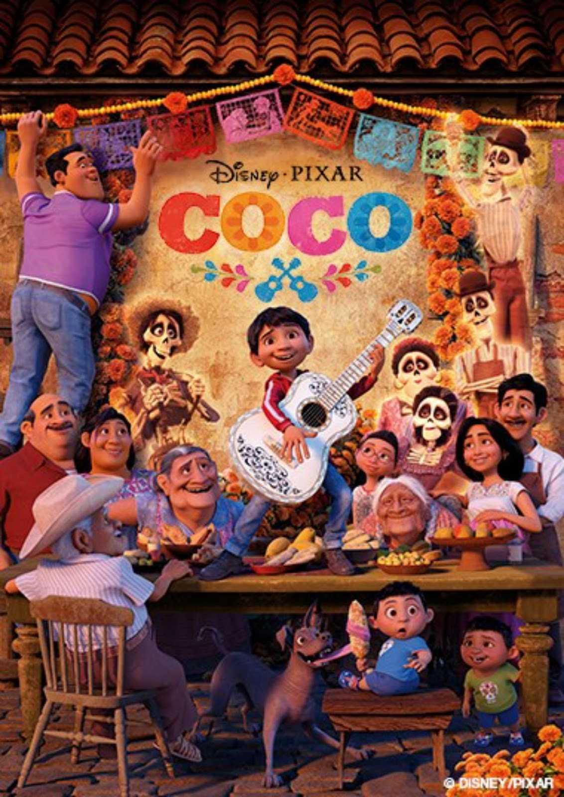 Coco and his big family