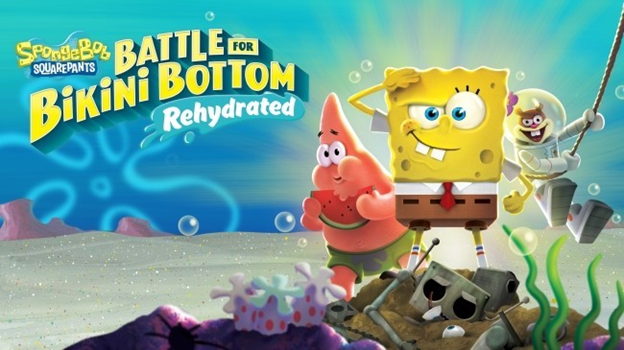 Most anticipated games 2020 - SpongeBob SquarePants: Battle for Bikini Bottom – Rehydrated