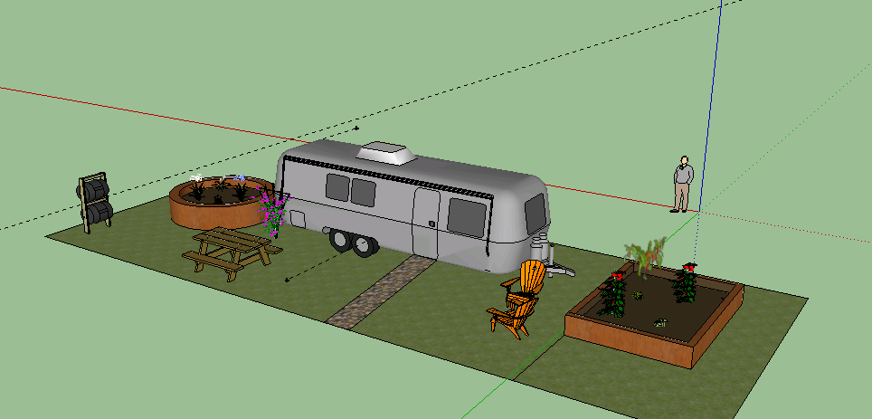 Getting creative with Google Sketchup
