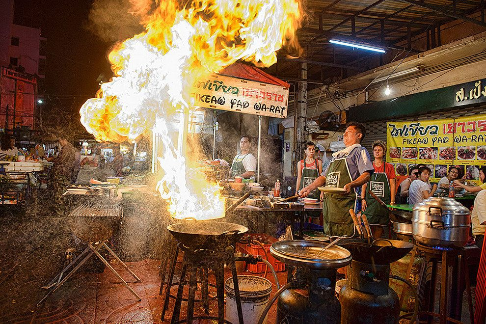 Image result for Yaowarat Street Food
