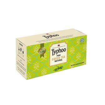 Typhoo Pure Natural Green Tea Bags