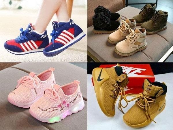 Cam kết khi nhập giày trẻ em tại thienhuongshoes